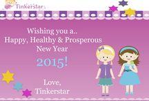 Tinkerstar Greetings / Greetings created by Tinkerstar