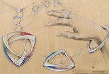 kreslené šperky