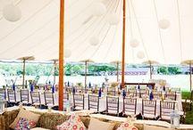 Strech Tent decor