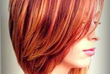 окрас волос