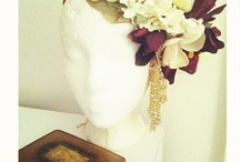 head floral peices / by Bloem.Flowers.Chocolate.Paperie