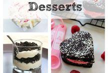 Valentin desserts