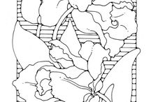 Coloring Pages- Väritys kuvia