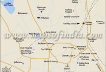 City Maps of India