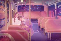 Romantic drawings