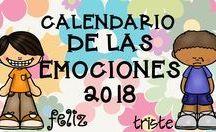 calendario 2018 de las  emociones