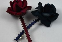 "Headpieces / Accessories for the hair. Handmade by ""E&L by LUNDQVIST"". Flower accessories for any occasion."
