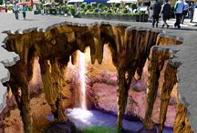 Chalk Art / These pics may look real, but they are just chalk pictures!!!