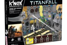 Prepare for TITANTFALL / Prepare for Titanfall™ with Titanfall toys exclusively from K'NEX. Build the war-torn Angel City with buildable Titans from each faction and wall-running Pilots. Collect all Titanfall toys to recreate the game! http://www.knex.com/products/titanfall-toys/ / by K'NEX Brands
