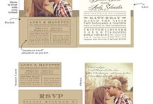 LOVE* Wedding invitations