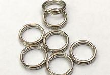 Schlüsselringe / Schlüsselring in verschiedenen Durchmessern aus Stahl oder alternativ als Edelstahl und Messing.