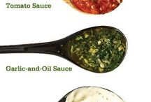 Sauces, dips, vinegars and oils