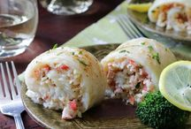 crab in white fish
