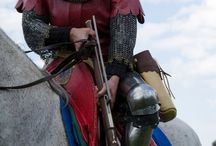 Mounted squires&men-at-arms