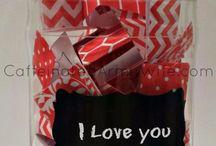 DIY Valentine's Gift Ideas / Digital Scrapbook & paper craft ideas for Valentine's Day