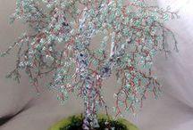 Koralikowe bonsai