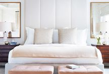 Upholstered Headboards - Interior Design Trend 2017 / Consider treating yourself to a luxury upholstered headboard this coming year and engage in one of the simplest upcoming trends of 2017 interior design.