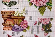 cross stitch camelia