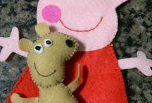Festa Peppa Pig / Decoração