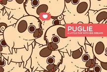 Pugs ❤️❣️