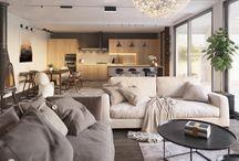 Zolotye Vorota. Scandinavian style / Kiev, interior design, Scandinavian style