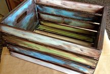 Antiquing Furniture / Antique Crates