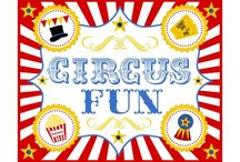 Circus!!!  / everything for the under the big top