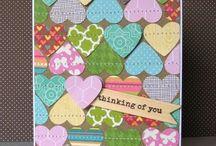 card page ideas / by Rachele Herimann