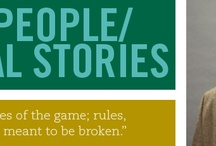Babson's Real People Real Stories / Every day, the Babson Community does extraordinary things. Innovators. Change makers. Boundary breakers and visionaries.