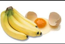 hidratacao com ovo e banana