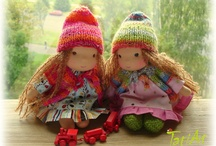 Waldorf dolls and clothes
