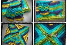 Crochet, knitted - my work