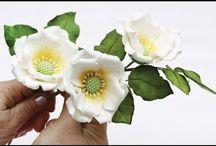 цветы из мастики / создание цветов