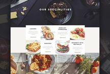 webDesign | inspirations - restaurant&food
