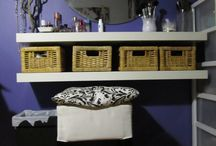 Makeup Storage / by Shannon Mulvaney