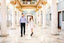 Megan and Matt Spencer / Wedding day!