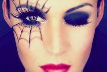Halloween makeup and costume