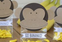 Monkey Party Ideas / Ben's 1st Birthday
