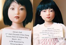 Dolls - Nancy Lee Moran Repaints