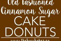 Cake donut recipes