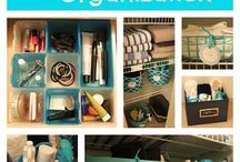 Apartment Organization / Tips and tricks to organizing any space!