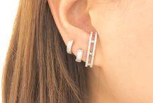 Brincos, Ear Hook, Ear Jacket e Ear Cuff - semijoias banhadas com garantia / www.bella-bijoux.net