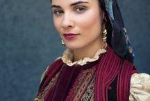 Greek Folk Costumes
