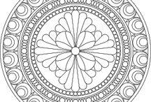 Rózsaablak mandala