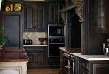 ♣♠ Neo Romanian Persian Mid Century Summer Kitchen & Under Balcony ♠♣