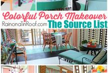 Back Porch / Creating a relaxing space