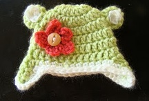 crochet baby hats/headbands/mittens / by Kelly Thompson