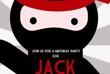 Zac's bday party