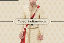 Wear Indian Wear / Manish Creations latest collection of Indian wear for men across all Manish stores in Inida