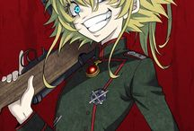 Youjo senki(witch with shoulder straps)